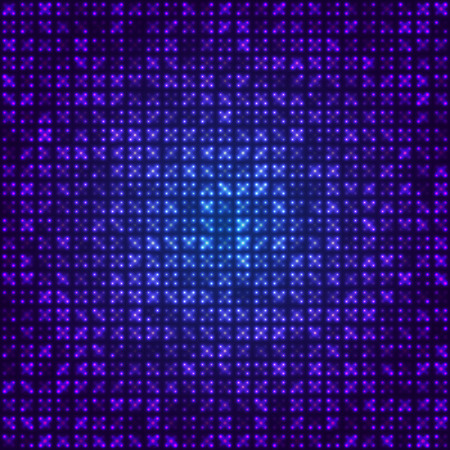 virtual technology: blue abstract background virtual technology. vector illustration