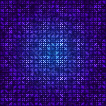 tecnologia virtual: fondo azul abstracto tecnolog�a virtual. ilustraci�n vectorial
