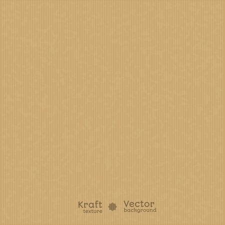 Kraft-papier tekstury tła. Użyj do projektowania. prezentacje, itp Ilustracje wektorowe