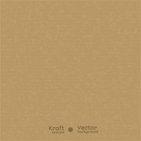 Kraft paper texture background. Use for your design. presentations, etc. Vector