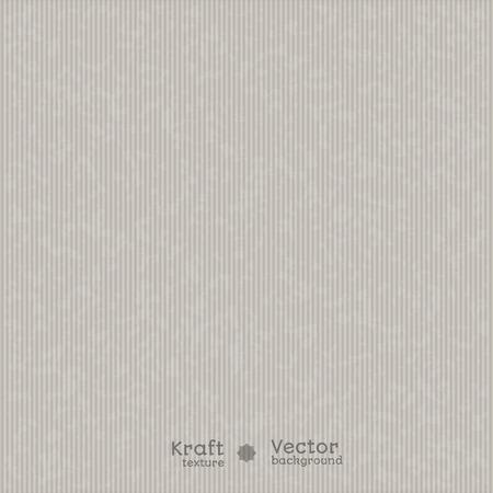 ベクトルの背景のグレーの色合いでリアルな質感垂直クラフト紙。パッケージ デザイン、ラベルおよびプレゼンテーションに使用できます。