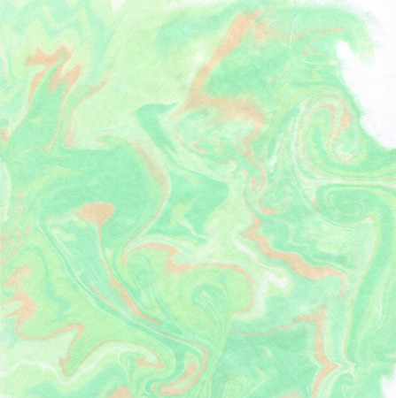 velvet texture: Abstract background in lime, green, terracotta tones. Imitation velvet surface. Ink texture, watercolor hand drawn marbling illustration,  aqua print Stock Photo
