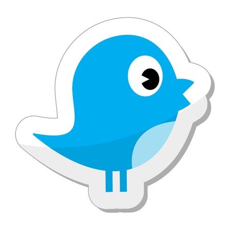 tweet: Tweet bird - social media icon