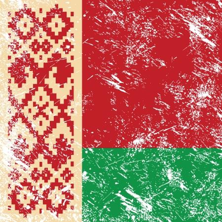 belarus: Belarus retro flag