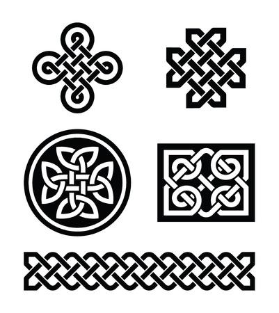 keltisch: Keltische Knoten-Muster Illustration