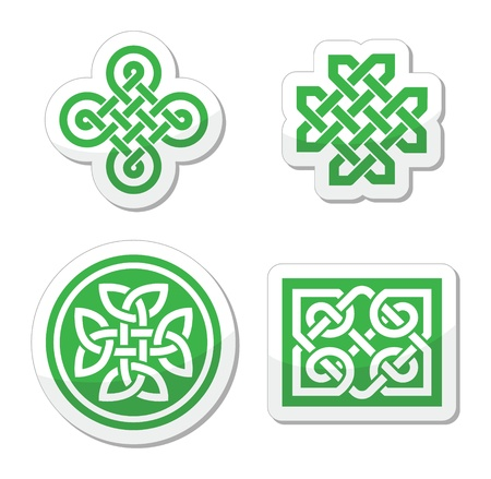 irish symbols: Celtic knots patterns