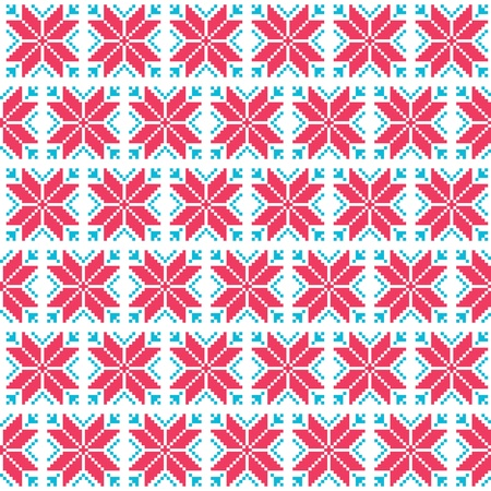 Christmas nordic seamless pattern Stock Vector - 21469528