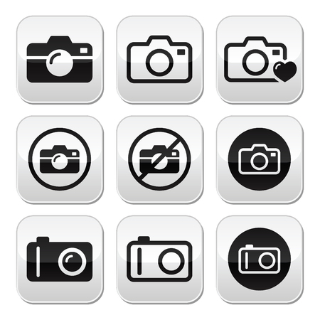 no photo: Camera buttons set