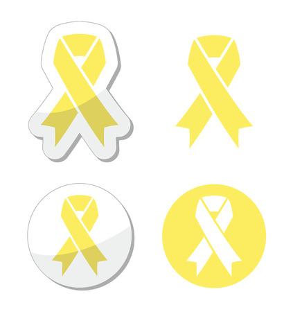 pale yellow: Pale yellow ribbon -ymbol of spina bifida