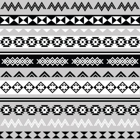 Tribal ethinc ztec seamless pattern Stock Vector - 24505313