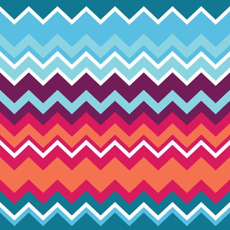 indigenous culture: Tribal aztec zigzag seamless pattern