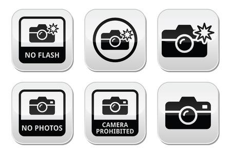 be aware: No photos, no cameras, no flash buttons