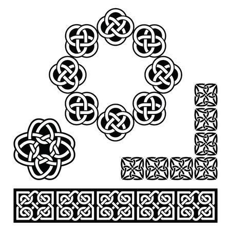Irish Celtic design - patterns, knots and braids