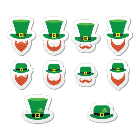 patron saint of ireland: Leprechaun character for St Patricks Day Illustration