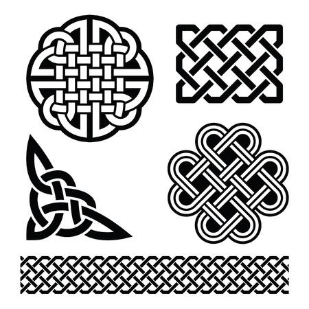 nudos: Celtic nudos, trenzas y patrones - El día de St Patrick en Irlanda
