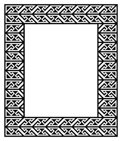 17 of march: Celtic Key Pattern - frame, border