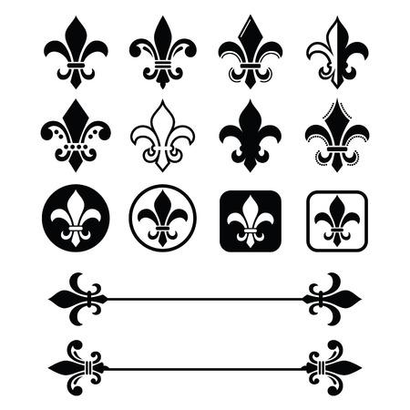 symbol fleur de lis: Fleur de lis - French symbol design, Scouting organizations, French heralry