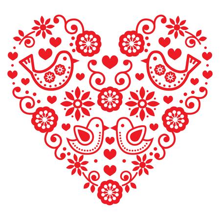 felicitaciones cumpleaÑos: arte popular del corazón de San Valentín - amor, boda, tarjeta de saludos de cumpleaños