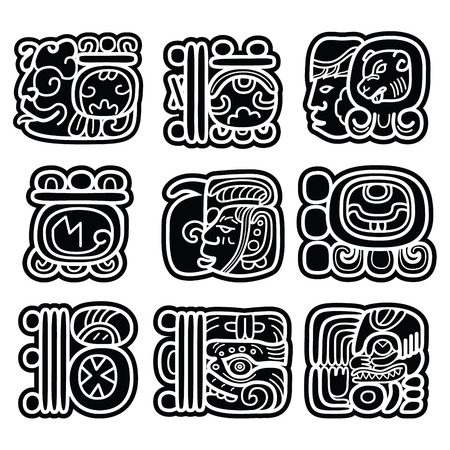 Mayan writing system, Maya glyphs and languge design