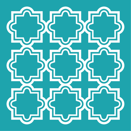 inspired: Geometric art, abstract background inspired by Arabic traditional style
