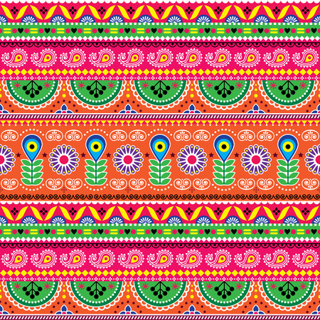 Vector floral seamless folk art pattern Stock Vector - 99992099