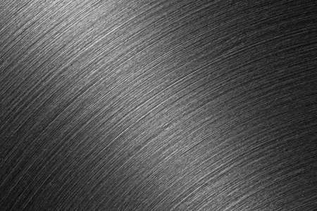 texture of brushed iron surface close up