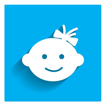 bebes ni�as: Los beb�s se enfrentan icono