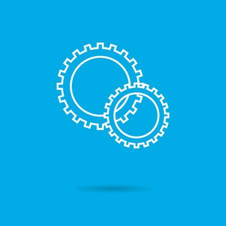 gears: Gear wheels icon