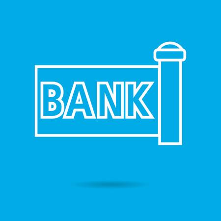 economies: Banque ic�ne enseigne