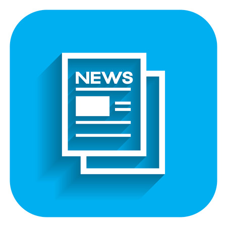 press news: Online newspaper icon