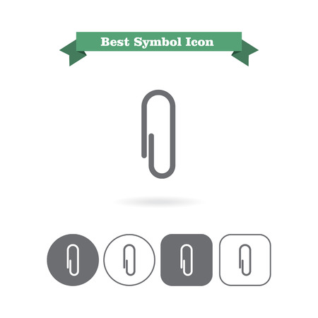 paperclip: Paperclip icon