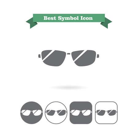 glasses icon: Icon of men sun glasses