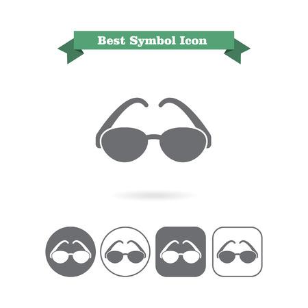 glasses icon: Sun glasses icon