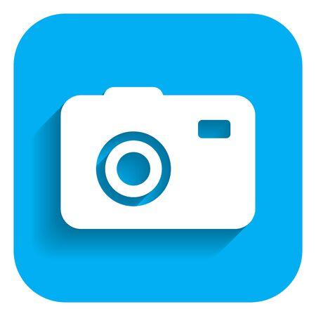 excursion: Photocamera icon Illustration