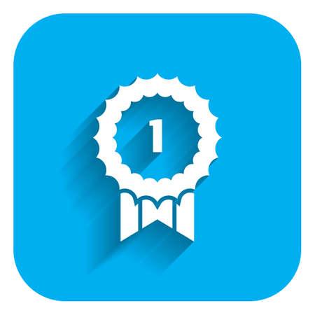 ganador: Icono de la cinta de la concesión ganador