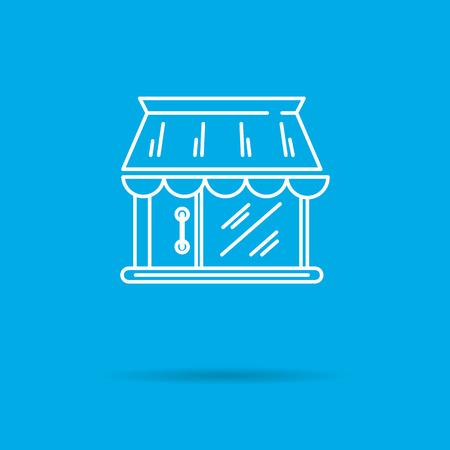 building trade: Shop building icon