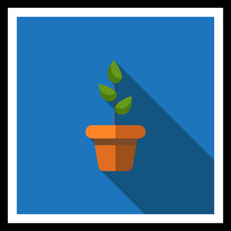 potted plant: Icon of potted plant