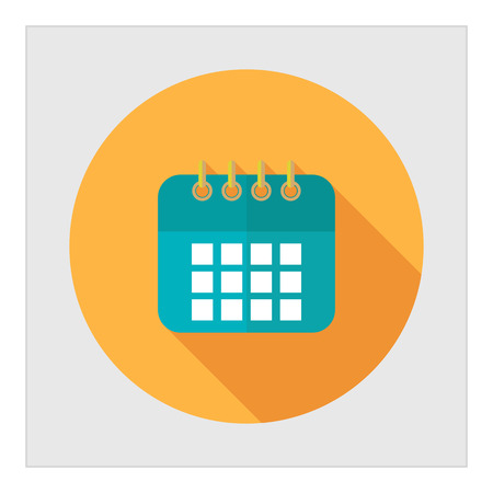 Icon of calendar page 向量圖像