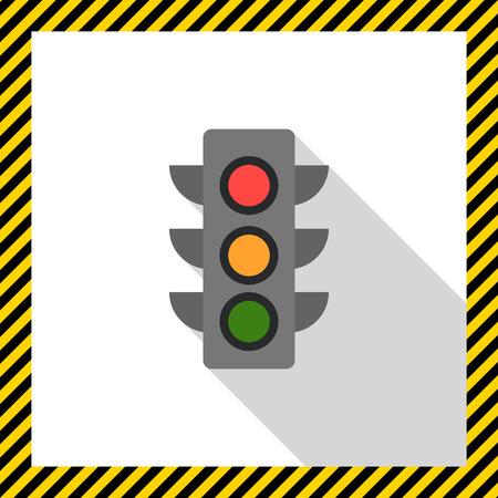 交通: トラフィック ライト アイコン