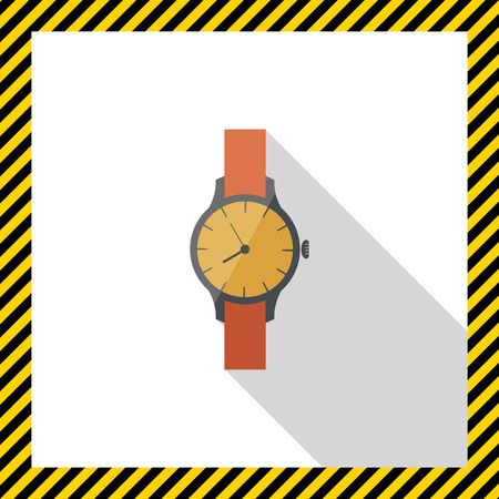 wristwatch: Wristwatch icon Illustration