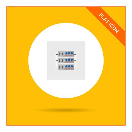 webhosting: Server icon