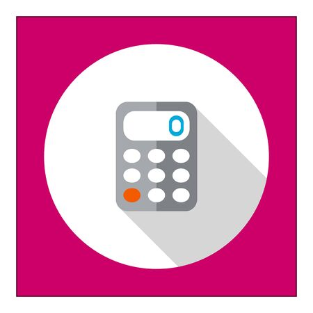 accounting logo: Calculator icon
