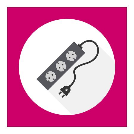 cord: Icon of power extension cord