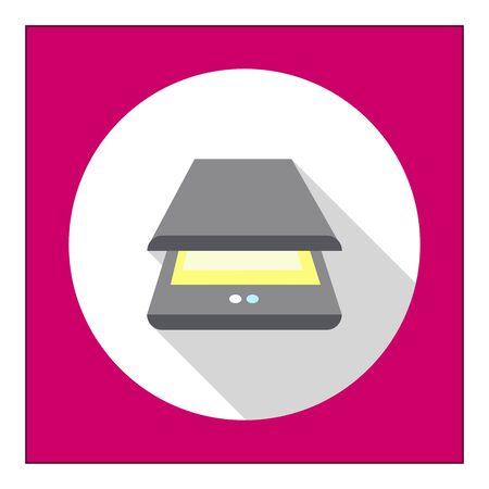 scanner: Scanner icon