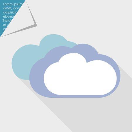 dull: Icono de las nubes