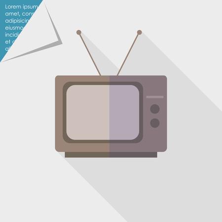 home video: Icon of retro TV set