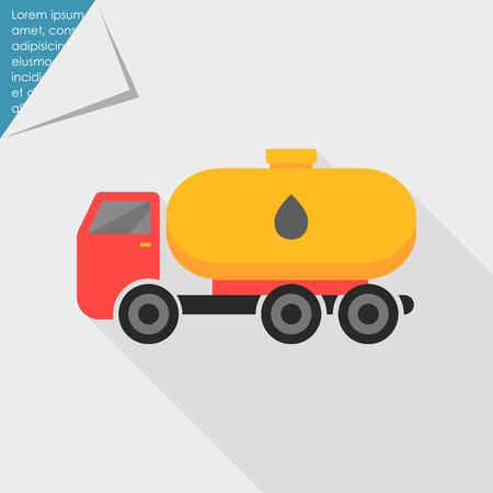 fuel truck: Tanker truck icon