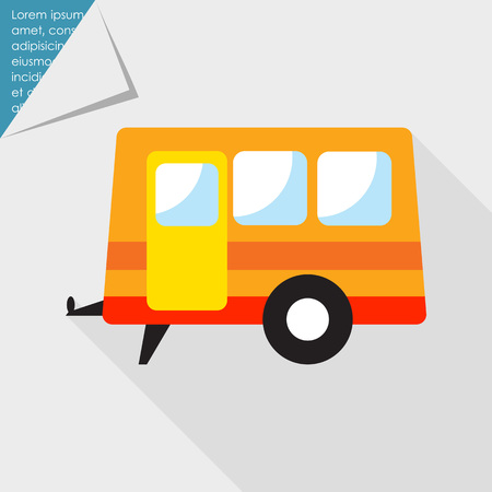 family van: Trailer icon