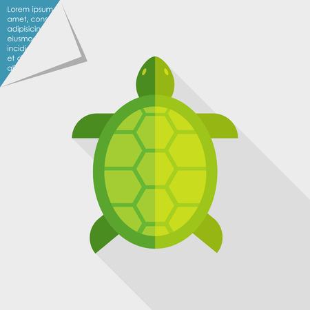 tortuga de caricatura: Turtle icono