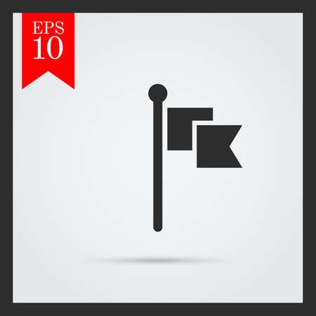 libbenő: Ikon csapkodott zászló